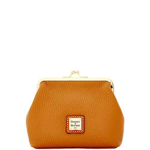 Dooney & Bourke Pebble Grain Large Framed Purse Caramel ZR407 CA