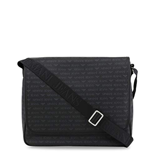 Armani Jeans Men Black Crossbody Bags