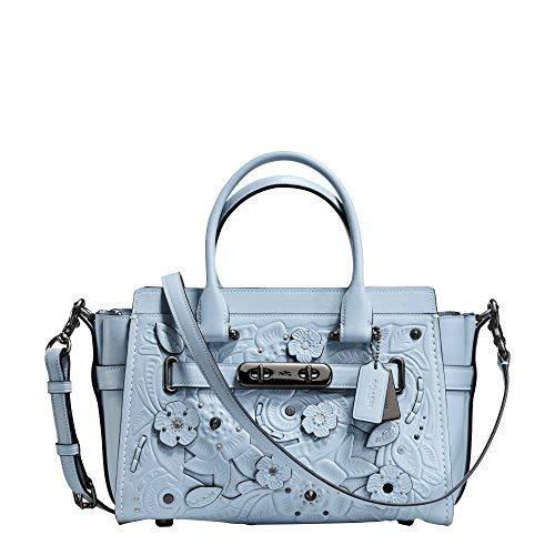Coach Swagger 27 Ladies Medium Leather Satchel Handbag 11854