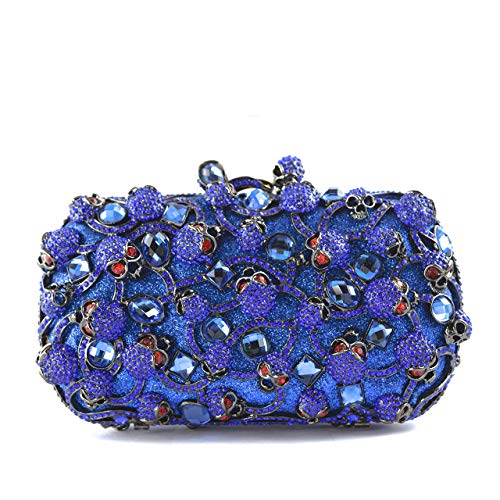 Stefano Laviano – Rendezvous Evening Clutch Blue