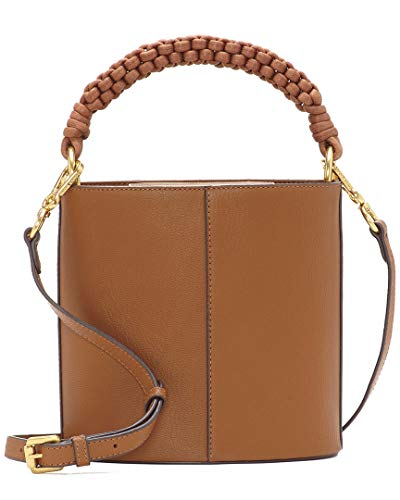 Vince Camuto Zane Leather Drum Bag