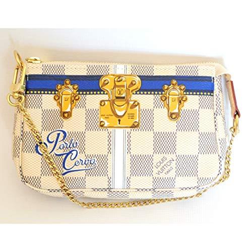 PORTO CERVO WRISTLET MINI POCHETTE ACCESSORIES Louis Vuitton Summer Trunk Bag Pouch Clutch LTD
