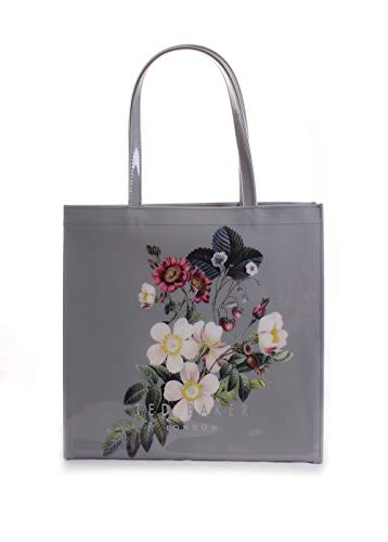 Ted Baker London Vivicon Oracle Large Icon Tote Handbag in Light Grey