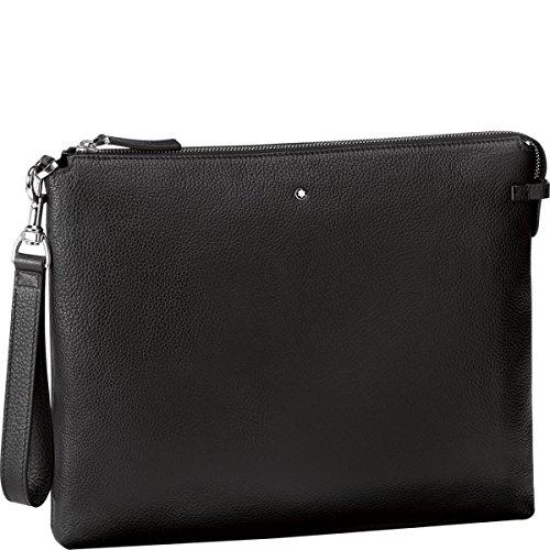 Montblanc 114458 Meisterstück Soft Grain Clutch Black Leather
