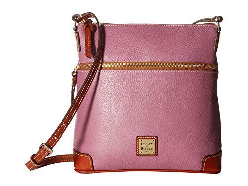 Dooney & Bourke Pebble Grain Crossbody Shoulder Bag, Mauve