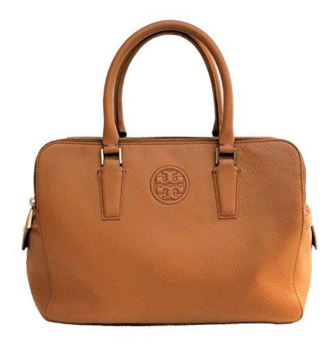 Tory Burch Marion Triple-zip Satchel Leather Bag