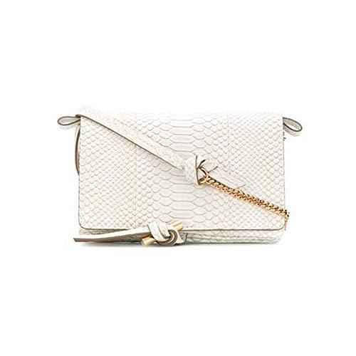 Stella McCartney Women's Flo Mini Shoulder Handbag White