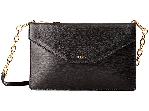 RALPH LAUREN Women's Newbury Erika Small Crossbody Black One Size