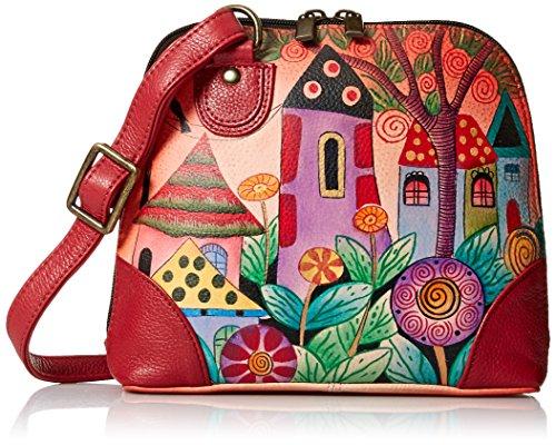 Anna by Anuschka Organizer Handbag | Genuine Leather | Village of Dreams