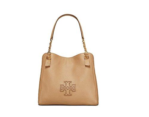 Tory Burch Harper Leather Shoulder Bag – Vintage Camel