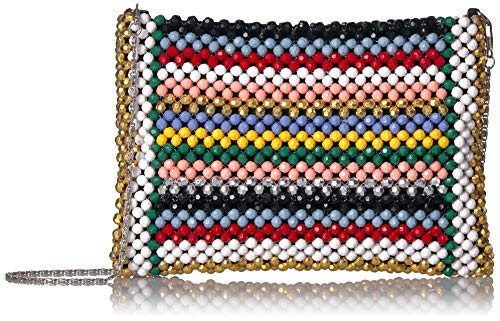 Betsey Johnson Womens Just Bead It Multi Bag
