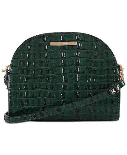 NEW AUTHENTIC BRAHMIN LEAH CROSSBODY SHOULDER BAG (Emerald La Scala Melbourne)