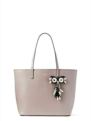 Kate Spade Star Bright Owl Little Len Large Leather Tote Women's Handbag