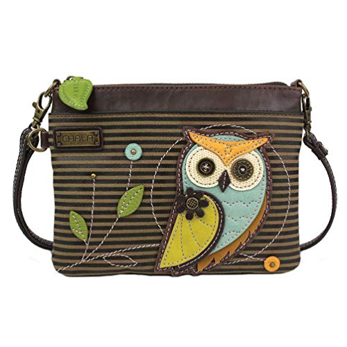 Chala Handbags Owl Generation A Mini Crossbody Handbag, Owl Collector