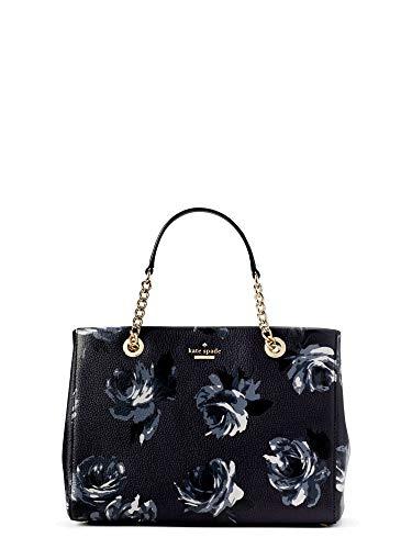 Kate Spade Women's Blue Briar Lane Night Rose Meena Leather Handbag