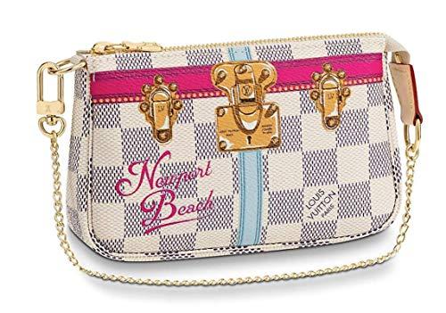 NEWPORT BEACH WRISTLET MINI POCHETTE ACCESSORIES Louis Vuitton Summer Trunk Bag Pouch Clutch LTD
