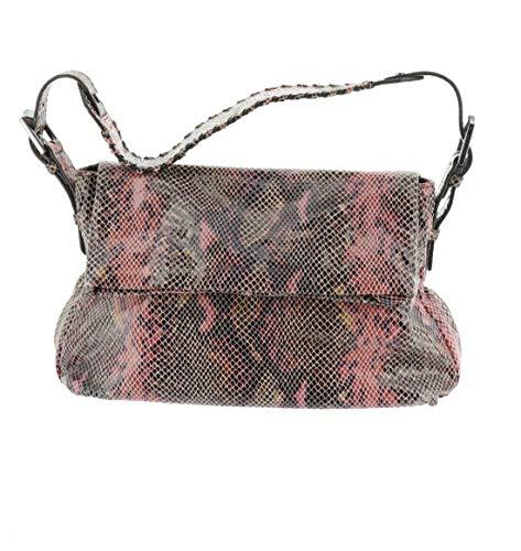 Aimee Kestenberg Vintage Leather Vertigo Shoulder Bag Sunset Snake New A300310