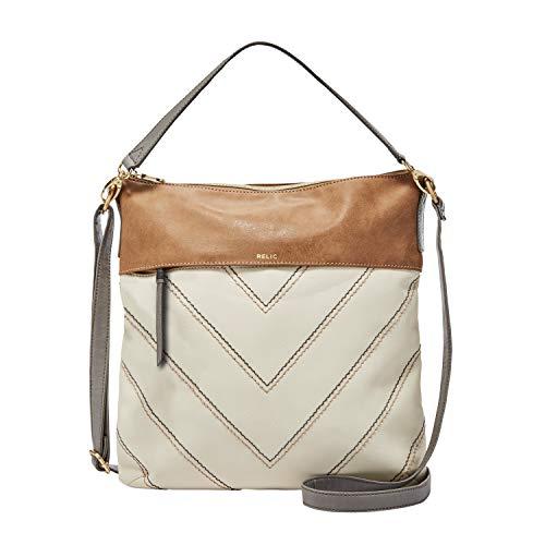 Relic by Fossil Women's Sophie Crossbody Handbag Purse, Neutral Multi