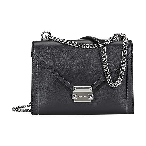 Michael Kors Whitney Large Shoulder Bag- Black