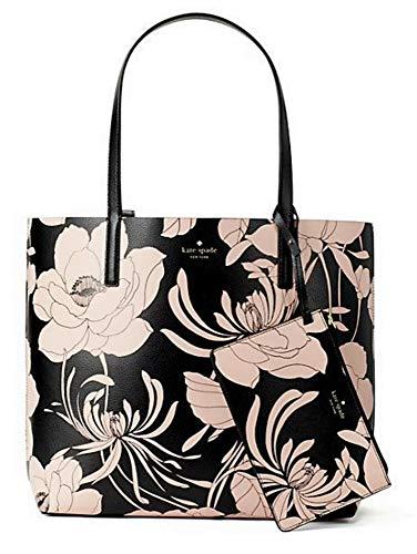 Kate Spade Women's Leather Arch Place Mya Gardenia Tote Handbag