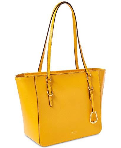 Ralph Lauren Bennington Shopper Med Sunflower Yellow
