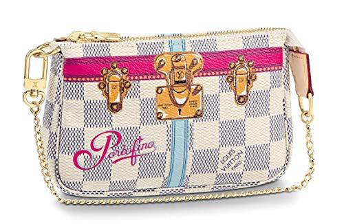 PORTOFINO WRISTLET MINI POCHETTE ACCESSORIES Louis Vuitton Summer Trunk Bag Pouch Clutch LTD