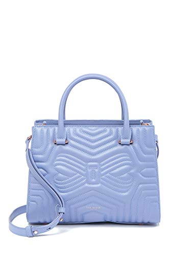 Ted Baker Quilted Bow Tote Blue Bag