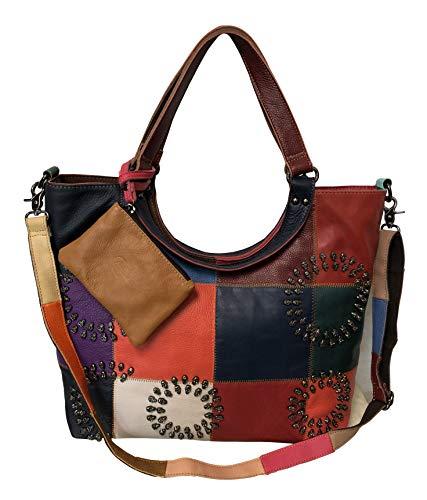 Amerileather Donovan Leather Tote Bag (#1932-8)