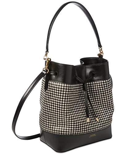 Lauren Ralph Lauren Dryden Debby I? Crossbody Bucket Handbag (Black, One Size)