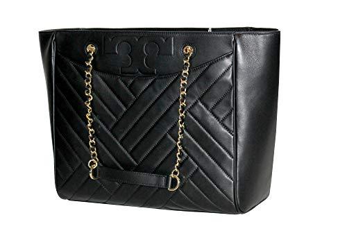 Tory Burch Alexa Flat Large Tote 50641 Women's Leather Handbag