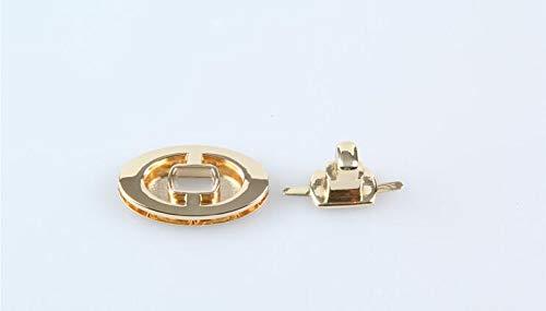 Buckes – DIY Fashion 41x24mm Popular Oval shap Light Gold Bag Lock Purse Lock, Handbag, Bag Parts, Bag Hardware Accessory