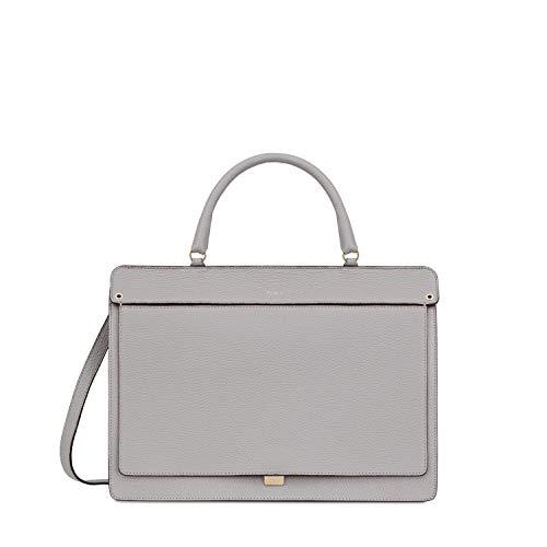 Furla Like Ladies Medium Gray Onice Leather Shoulder Bag 978286