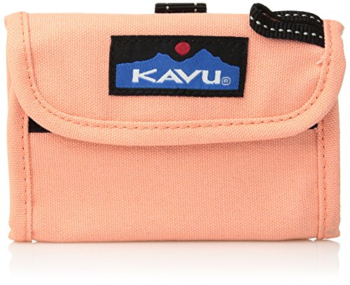 KAVU Wally Wallet, Coral, One Size