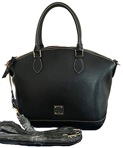 Dooney & Bourke Black Leather Darcy Satchel