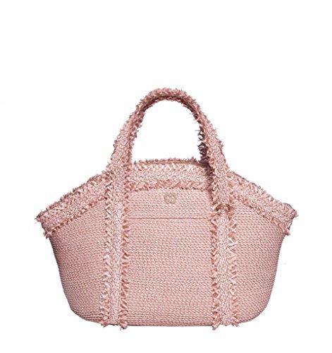 Eric Javits Luxury Fashion Designer Women's Handbag – Squishee Covet – Blush