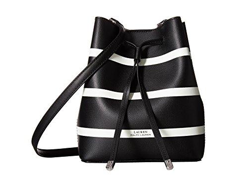 Ralph Lauren Striped Debby II Mini Drawstri Black&Vanilla Stripe