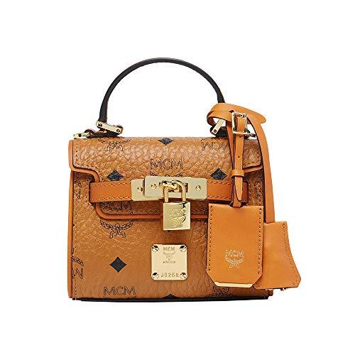 MCM Women Bags Mini Bags Heritage Satchel in Visetos