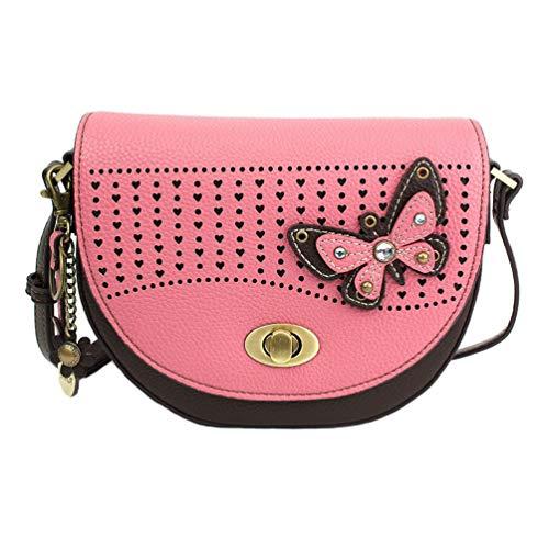 Chala Butterfly Half Moon Crossbody Handbag Purse – Butterfly Lovers Accessories