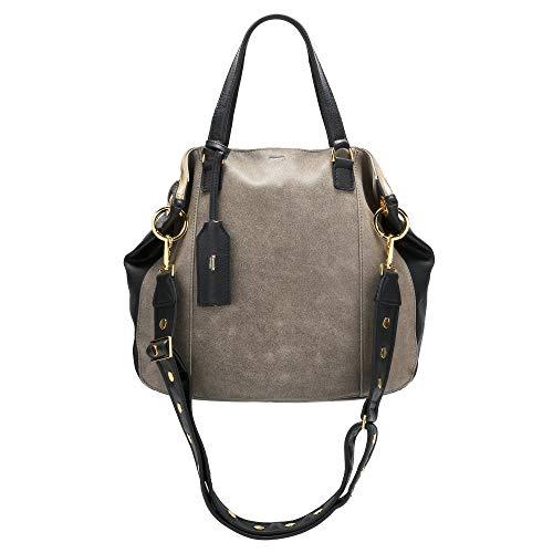 Hammitt Women's Daniel Lim Tote Bag Black with Gold Accents