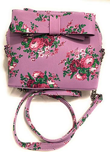 Betsey Johnson Women's Crossbody/Xbody Handbag, Purple/Multi