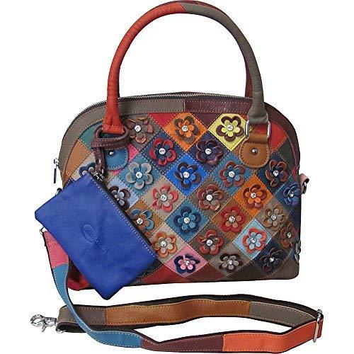 Amerileather Kenzer Leather Handbag