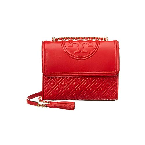 Tory Burch Fleming Convertible Leather Shoulder Bag 45147-612