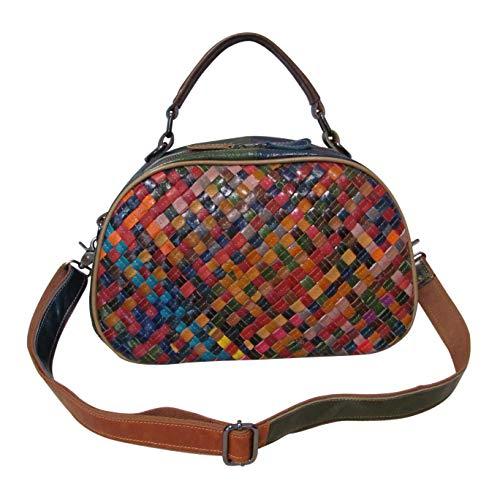 Amerileather Beckett Woven Handbag