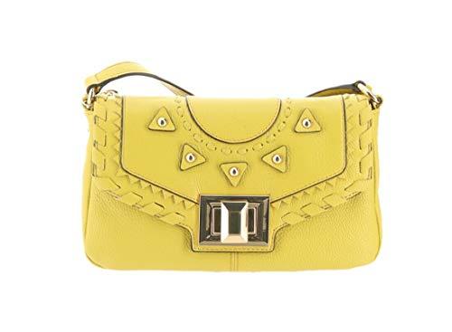 Aimee Kestenberg Pebble Leather Crossbody- Rio Blazing Yellow New A289325