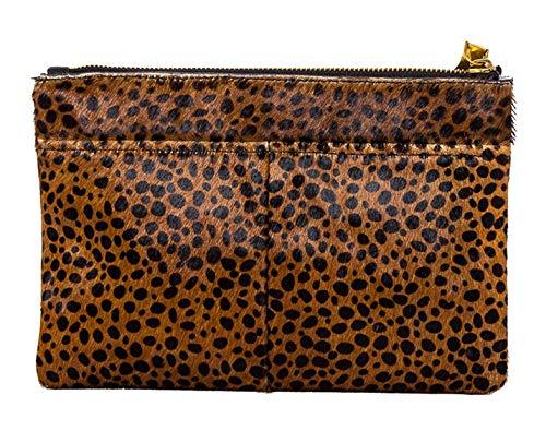 Aimee Kestenberg Women's Melville Pouch Brown Cheetah