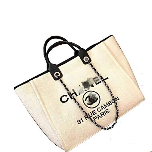 HPASS Classic Handbag Designer Shoulder Bag Large Size Tote Bag for Women