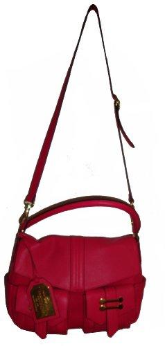Lauren Ralph Lauren Women's Bermondsey Flap Shoulder Handbag, Petunia