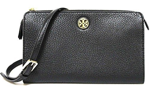TORY BURCH BRODY PEBBLED LEATHER WALLET CROSSBODY WOMEN'S BAG