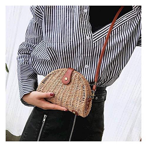 Viet's Hand Vintage Women Shell Rattan Straw Shoulder Handbags Bags Handbag