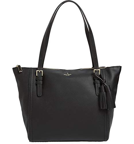 Kate Spade NY Orchard Street Maya Leather Shoulder Tote Purse in Black